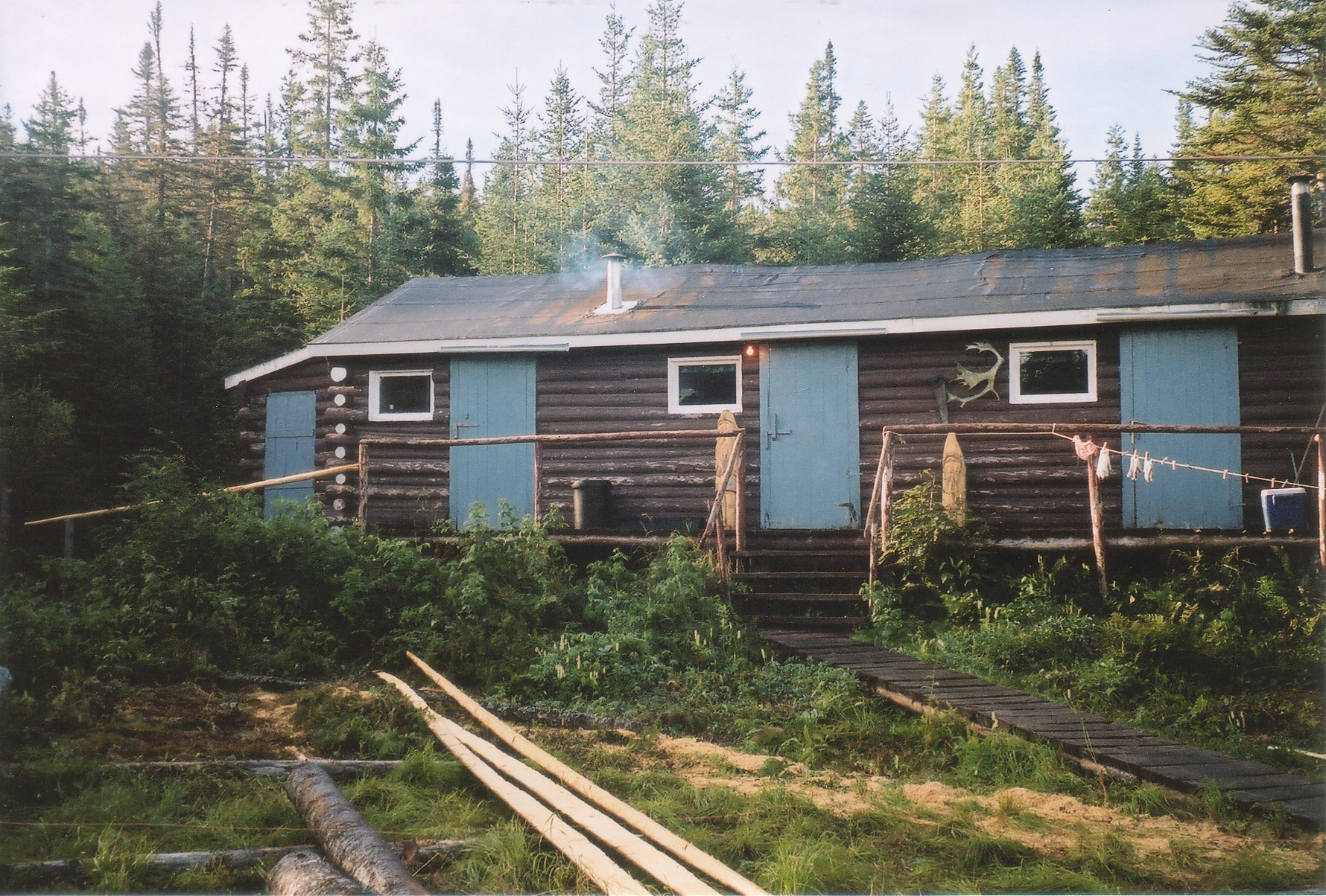 Camp at Deer Lake, Nfld